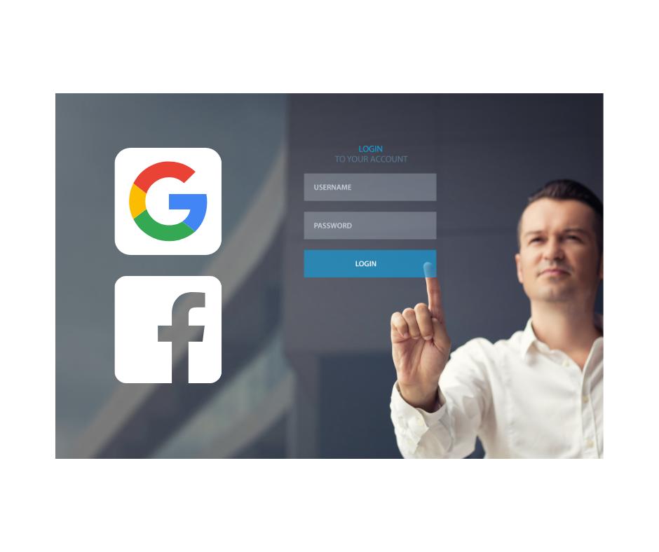 Google & Facebook Logins